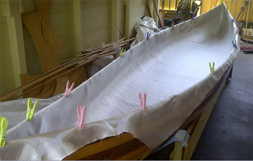 "6oz X 60"" Wide Fiberglass Cloth : 6x60 : Noahsmarine.com"