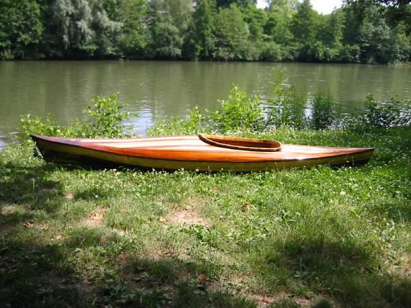 Guillemot Little Auk Cedar Strip Kayak Kit : Kit-littleauk